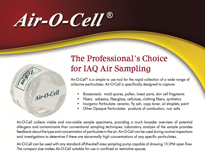 Air-O-Cell Brochure