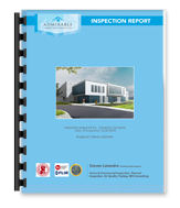 Sample commercial inspection report in Edmonton